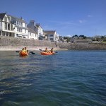 Kayaking at St Mawes