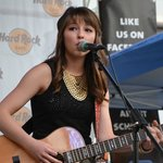 Downtown outside concerts (Caroline Kole at the Hard Rock)