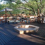 Mankwe decking by reception