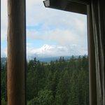 The view of Mount Hood