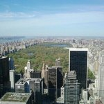 Blick von Top of the Rock auf den Central Park