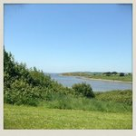 Beautiful view from the hill while visiting Littlesea Holly Holiday Caravan