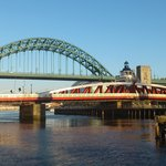 Blue Skies over the Tyne