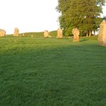 A short walk to the ancient stone circle