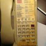 This is an a joke this phone was in the room but it had the wrong roo number