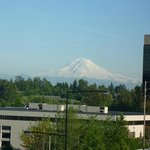 Mt. Rainier from SEA TAC Holiday Inn