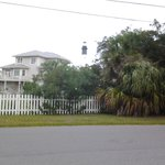 One of the lovely homes on the north end of Tybee, near the lighthouse