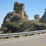 One of the many gorgeous rock formations on the ByWay