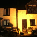 Night-time at the Cornish Arms