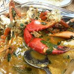 the amazing crab curry