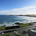 Beautiful Fistral Bay and Beach.  View from a 2nd Floor Best Room