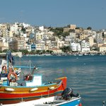 sitia  fishing port