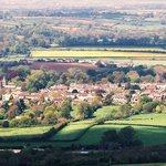View over Ottery St Mary, Devon
