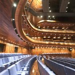 Interior of Wexford Opera House