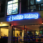 Front of @ White Patong - Night time