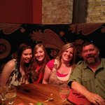 Family at Rodizio Grill in Milwaukee