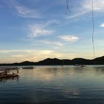 view of coron bay from the resto