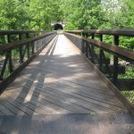 One of the many beautiful wooden bridges
