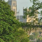 Looking toward Durham Cathedral #2