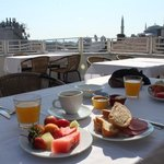 breakfast in the terrace