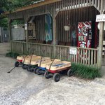 Front with wagons for rent
