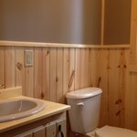 Timber Wolf Lodge - Cabin 3 - Newly remodeled bathroom - completed in June 2013