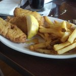 Fish and Chips Dinner menu