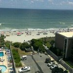 we had ocean view room not oceanfront..this was an awesome view!!!