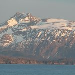 Sunset view of Kachemak Bay from Bay Ave B7B.