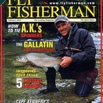 "Scott ""The Trout"" on Fly Fisherman's front cover"