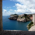 View from Wall in Dubrovnik