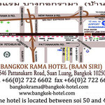 map to the hotel from Suvarnbhum Airport