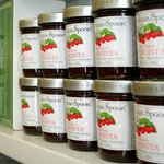 a selection of Michigan-made preserves