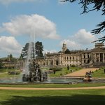 Great Witley with fountain running.