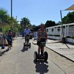 Gumbet Beach by Segway