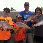 kids fought the big ones & even provided some keeps for dinner. it was the best day ever!