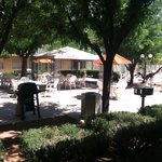 Courtyard - BBQ Grills - Picnic Tables