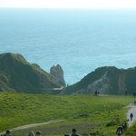 way down to Durdle Door