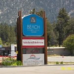 Entrance to Beach Retreat & Lodge at Tahoe
