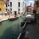 View towards the Grand Canal from room 102