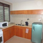 Nice kitchenette that's fully equipped.