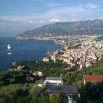View from Hotel overlooking Sorrento