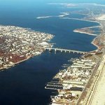 Aerial View - Sea Bright & Sandy Hook