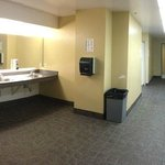 Risley Hall bathroom area