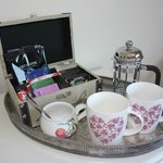 Vintage Room tea and coffee facilities