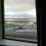 Dirty windows, - with seaview though