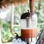 Delicious tropical smoothies offered at Brisa Azul