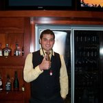 Josh, our lovely bartender