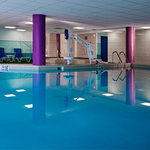 Our heated indoor pool and spa