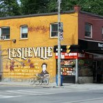 Leslieville neighborhood of Toronto.